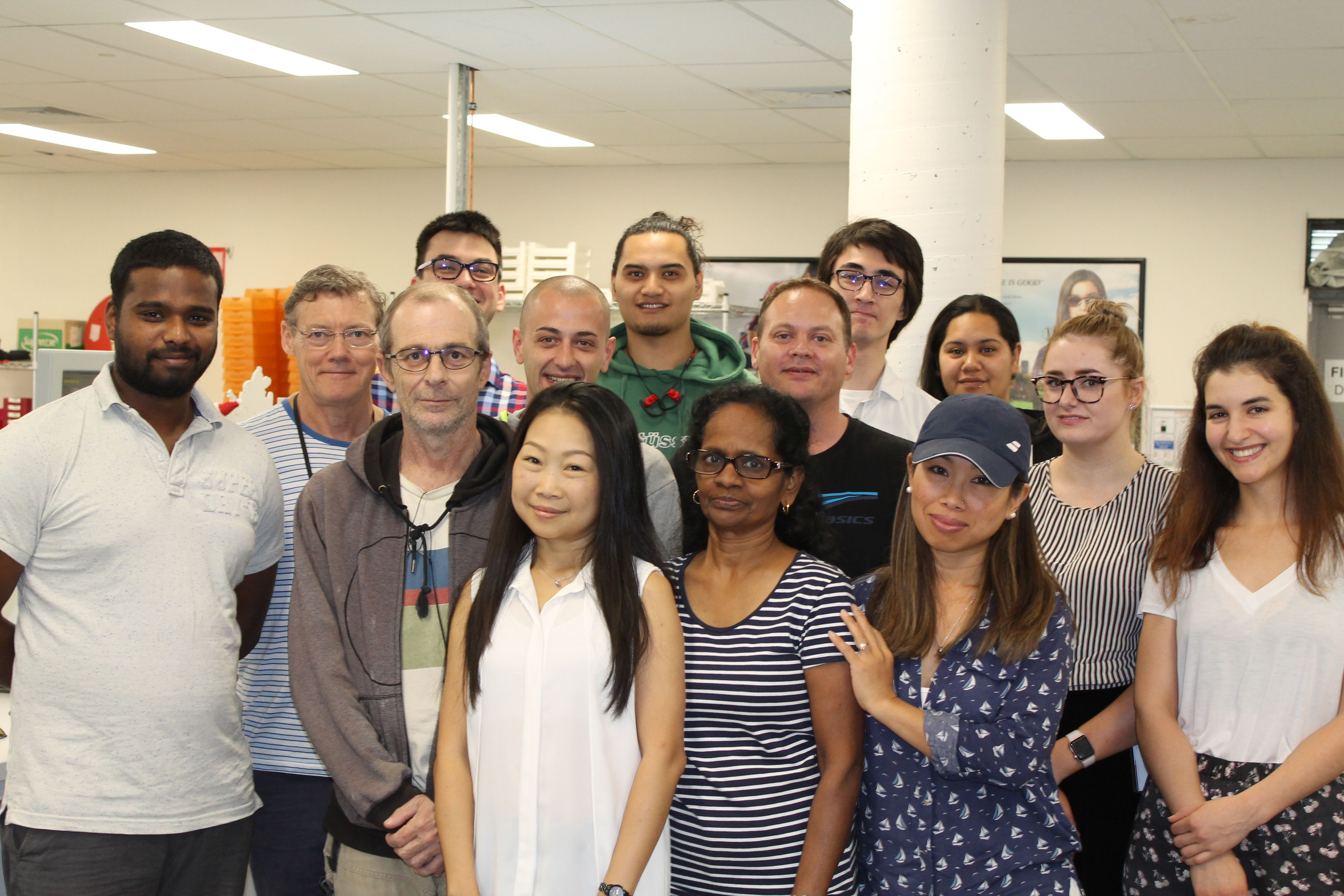 Sydney's VSP Optical Lab Team